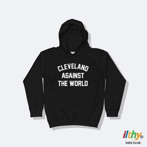 Cleveland Against the World Kids Hoodie