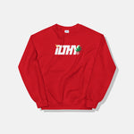 ILTHY Logo with Leaf Crewneck Sweatshirt