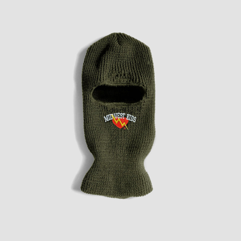 Midwest Kids x ILTHY Ski Mask (Olive) - ILTHY®