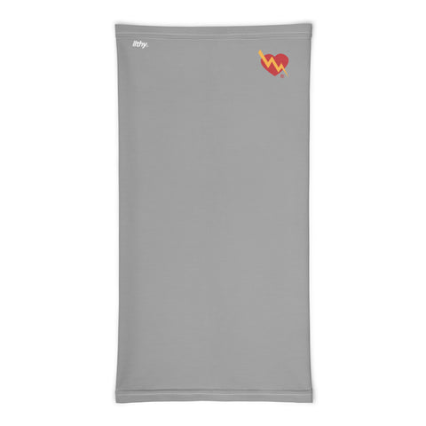 CLASSIC HEART NECK MASK (GREY)