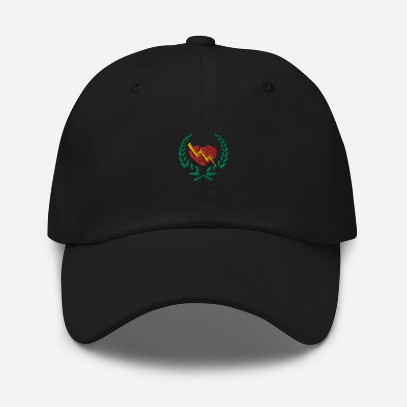 CLASSIC HEART CREST LOGO DAD HAT