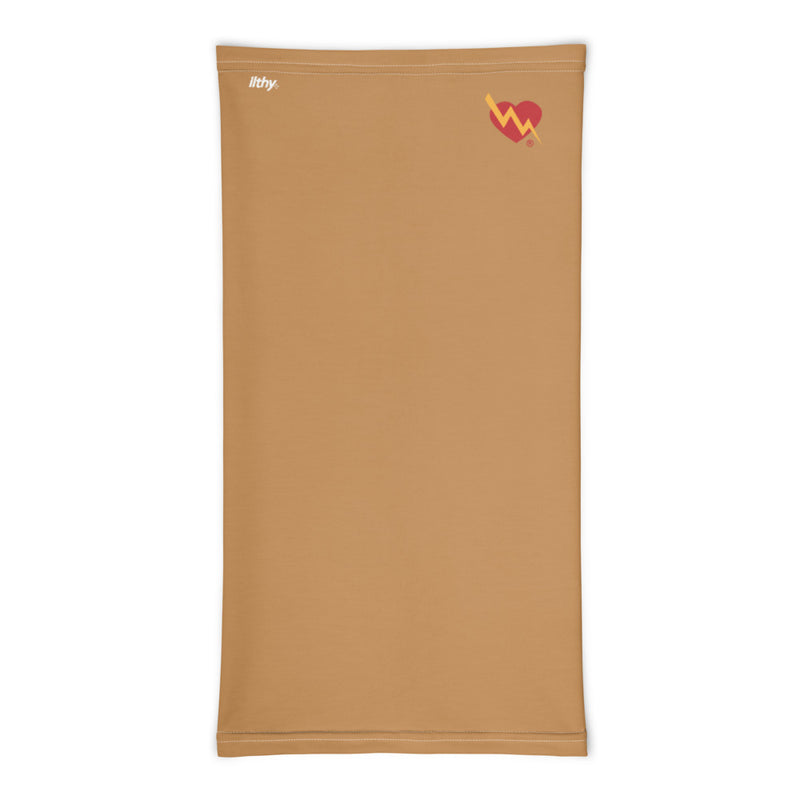CLASSIC HEART NECK MASK (TAN)