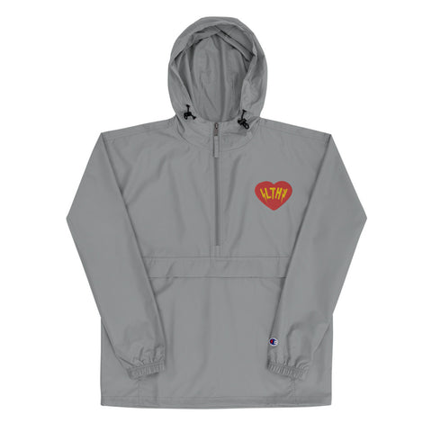 Big Heart Embroidered Champion Packable Jacket