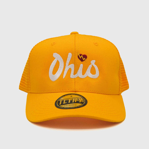 Ohio Script Trucker Cap (Gold) - ILTHY®