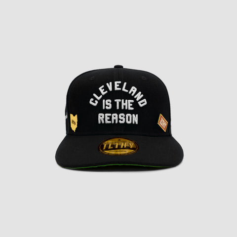Cleveland is the Reason™ Cap (Black)