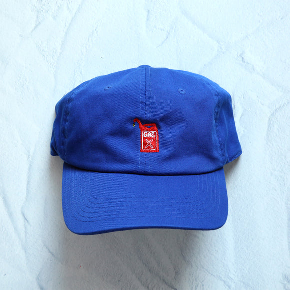 GAS Dad Hat (Royal Blue) - The High Rise Co
