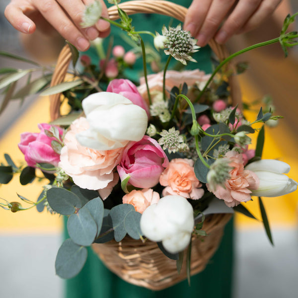 Mother's Day Floral Basket Workshop