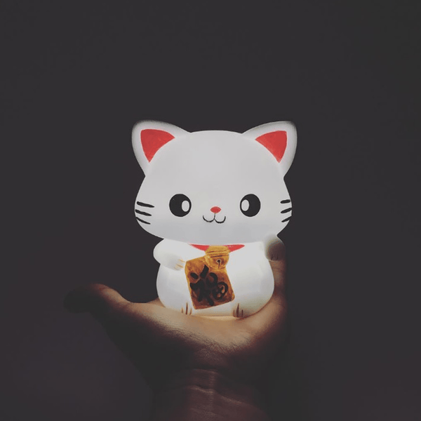 Night Light - Lucky Cat