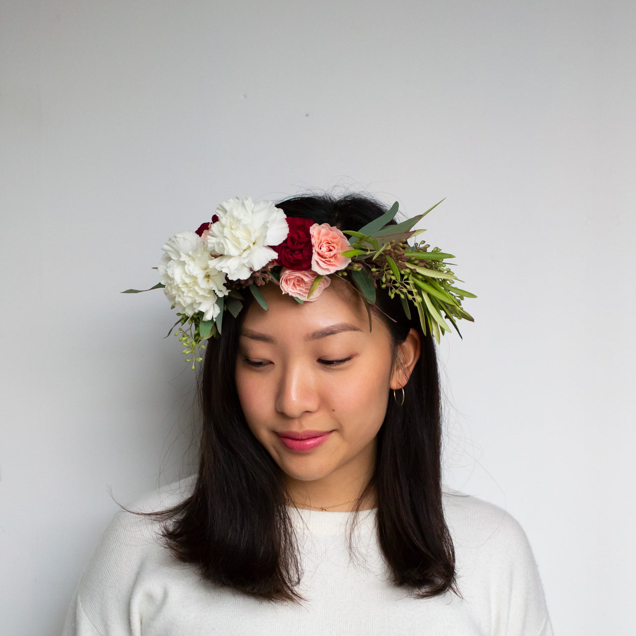 Galentine's Flower Crown