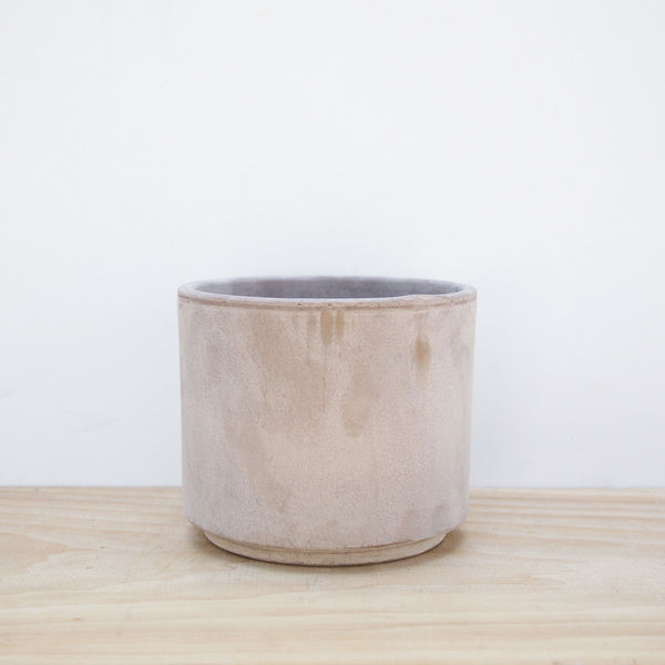 Gray Terra Cotta Pot