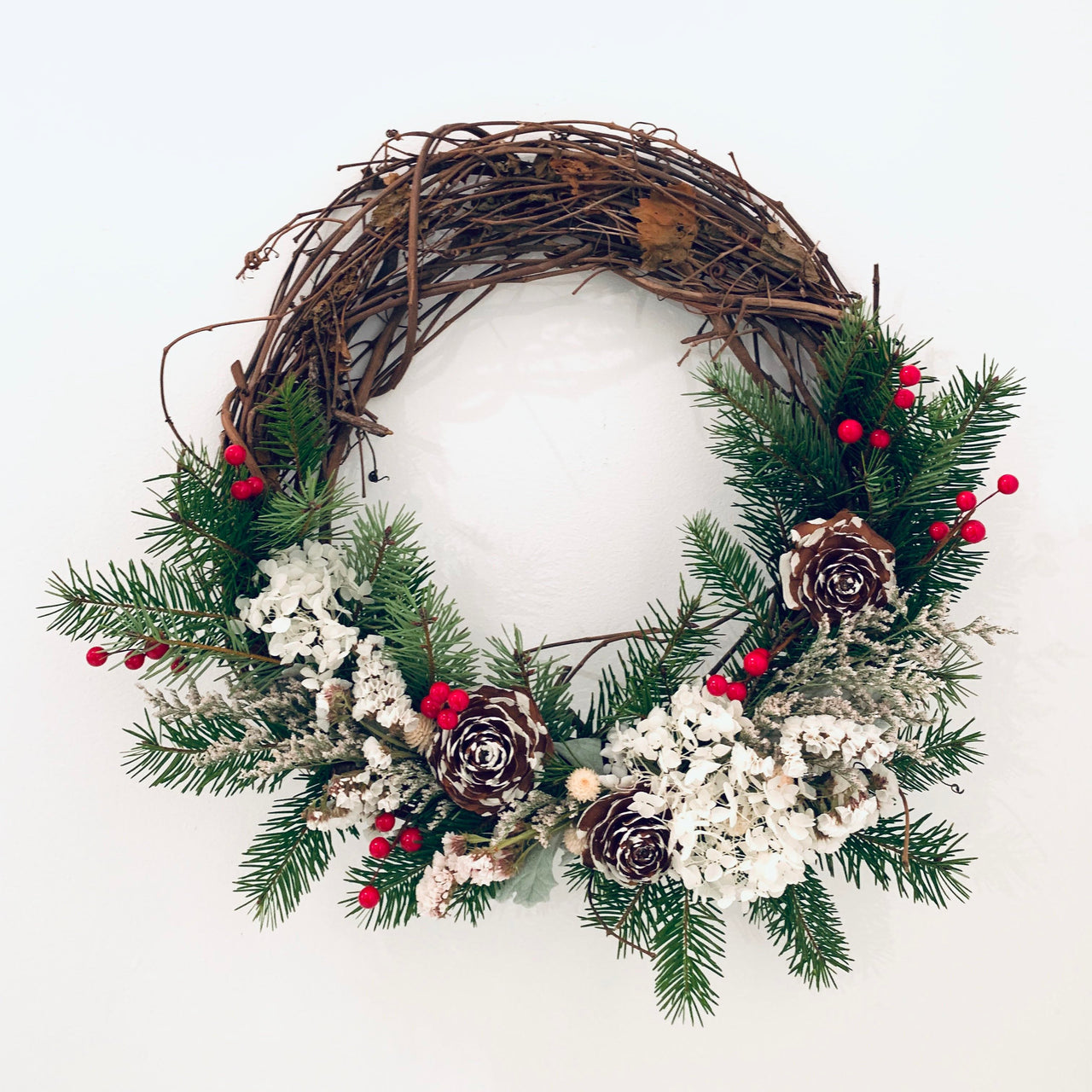 12/10/18 Holiday Wreath Workshop