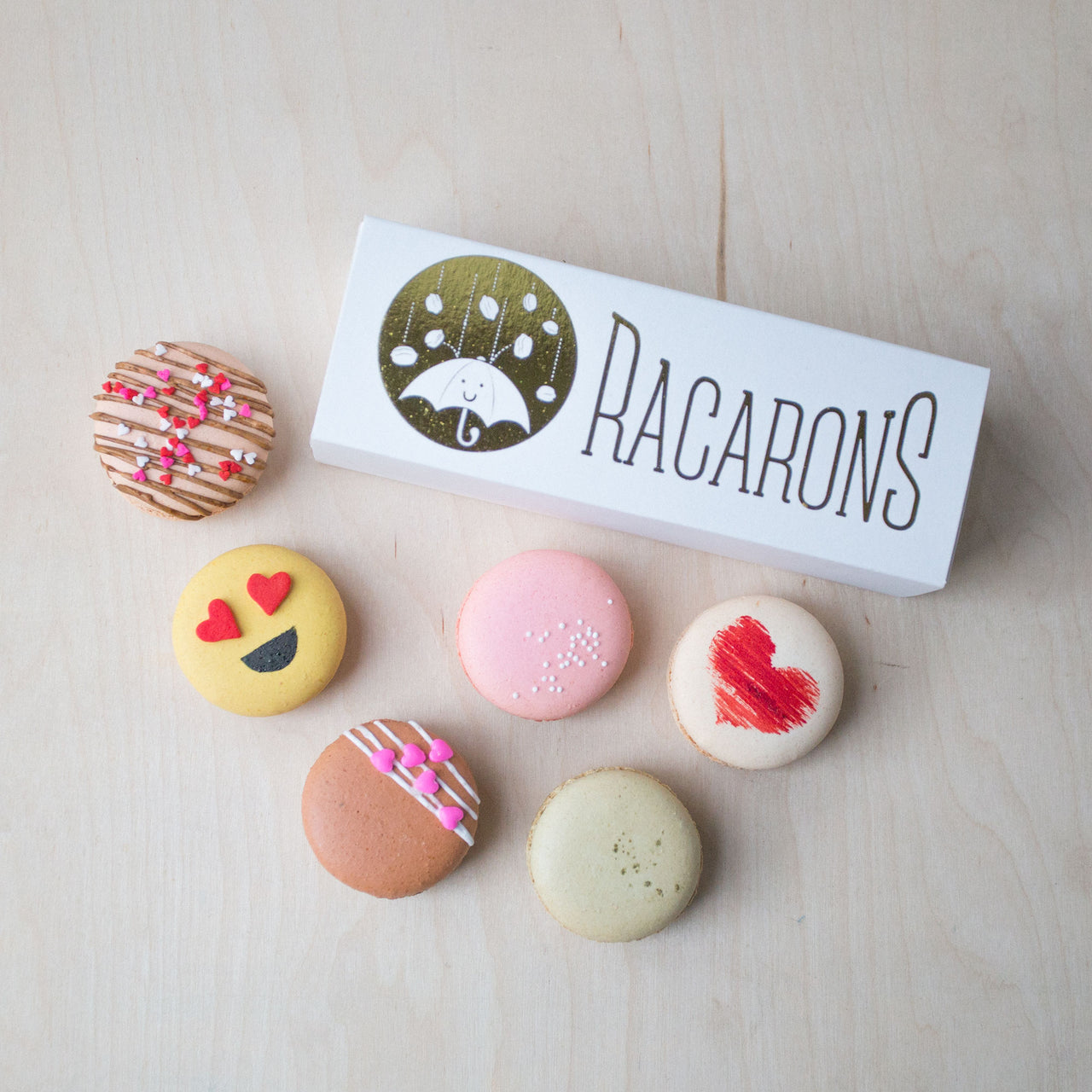 Valentine's Macarons - Add On