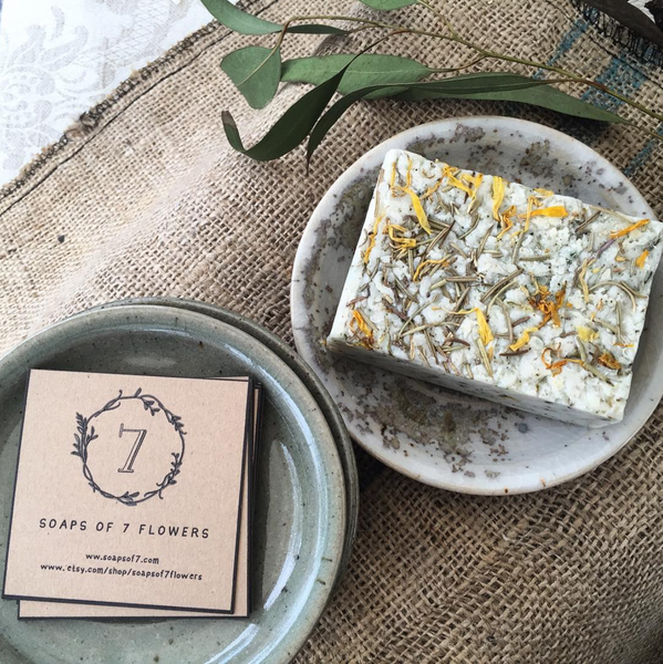12/7/18 Soapmaking Workshop with Soaps of 7 Flowers