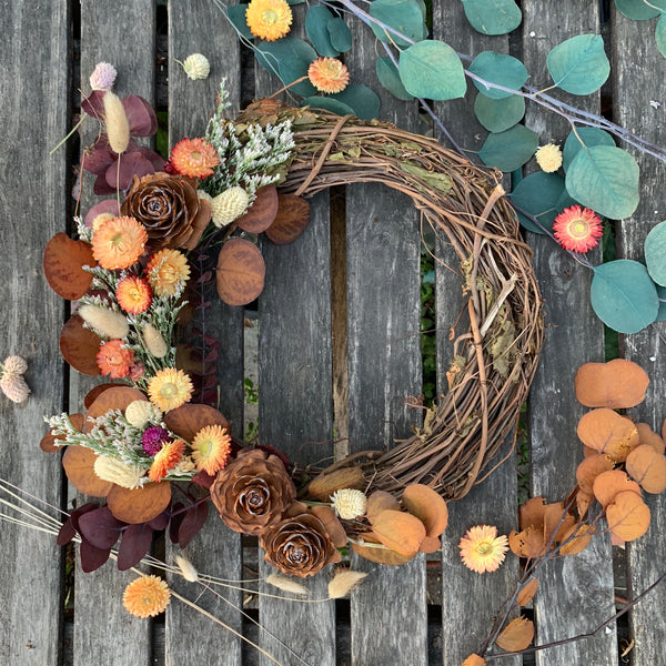 9/28/19 Fall Wreath Workshop