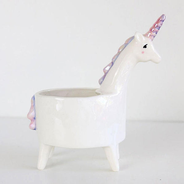 Unicorn Succulent Pot
