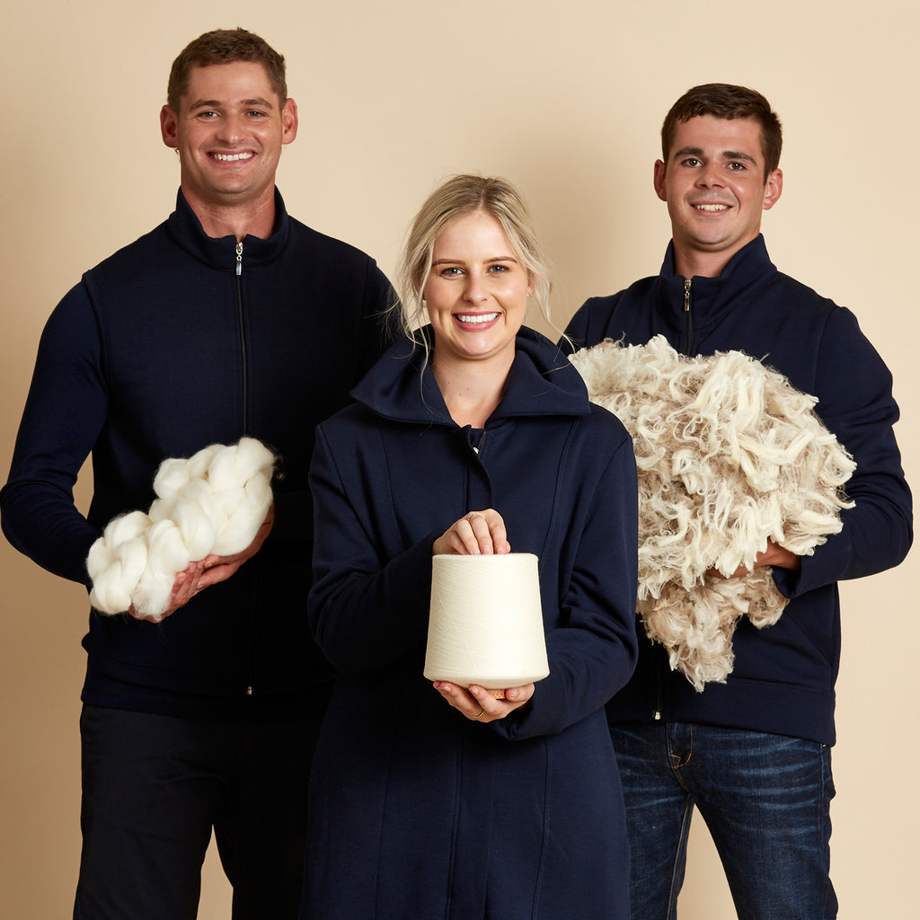 Sharing our love of Merino with you this Easter