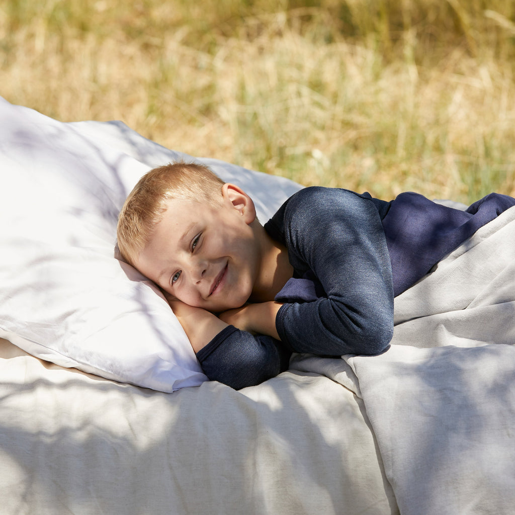 Sleeping in Merino Wool