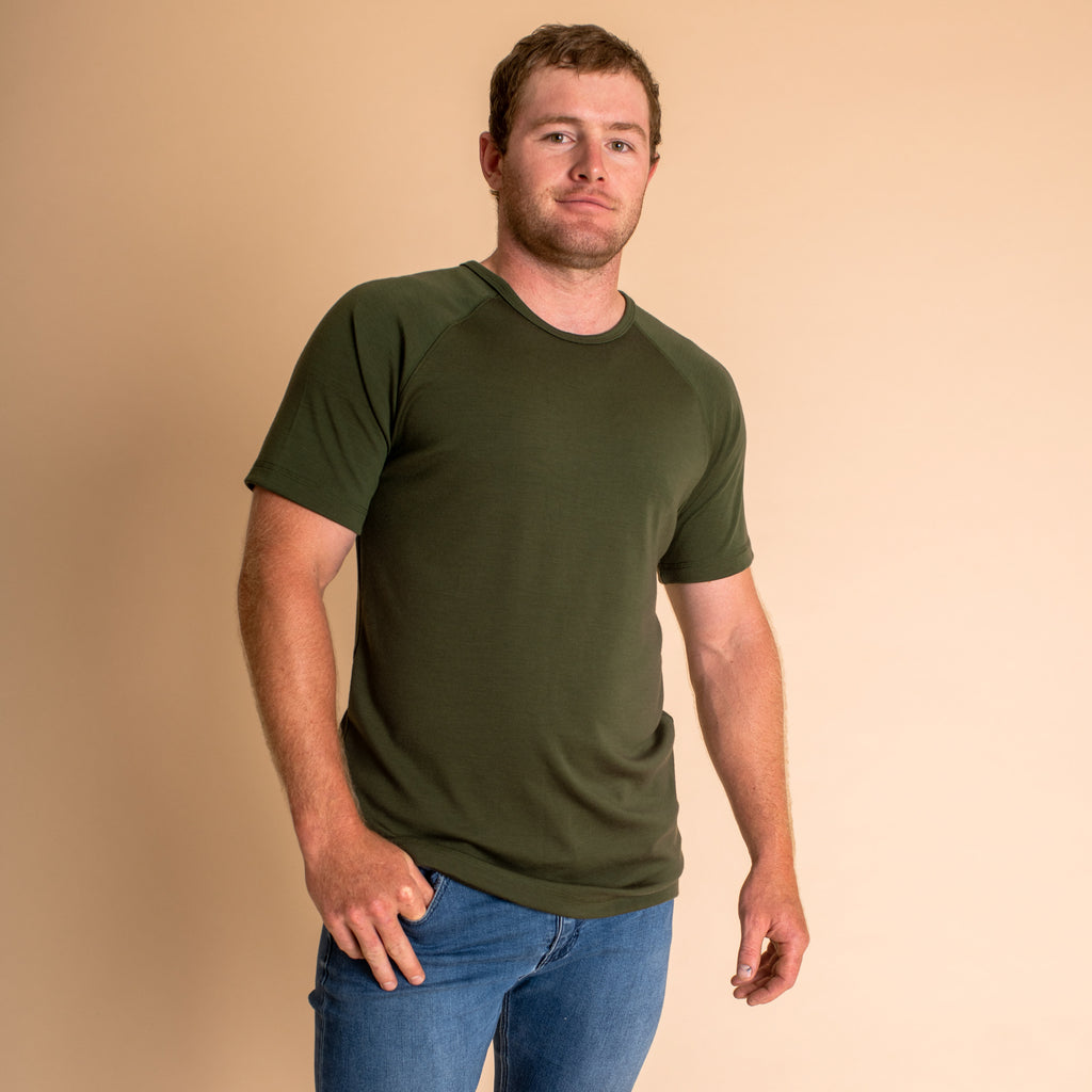 Woolerina. Australian Made, Mens Australian Merino wool clothing