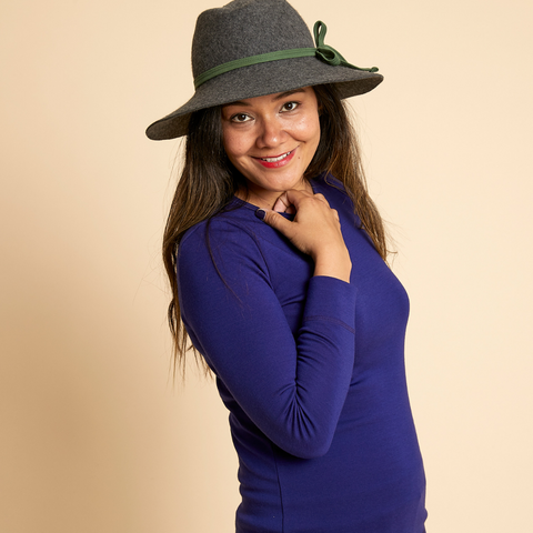 Fiona Schofield Hat Collaboration with Woolerina