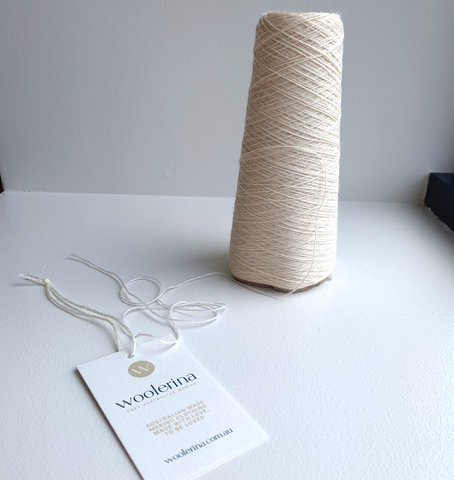 Woolerina Swing Tag with Merino Wool String