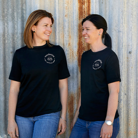 Penny Rout and Pippa McConnell Woolerina owners