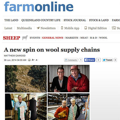 Woolerina Featured in the Farm Online