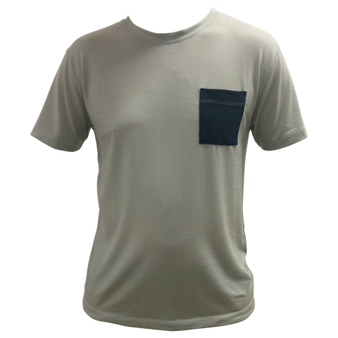 Mens Short Sleeve T-Shirt with Patch Pocket