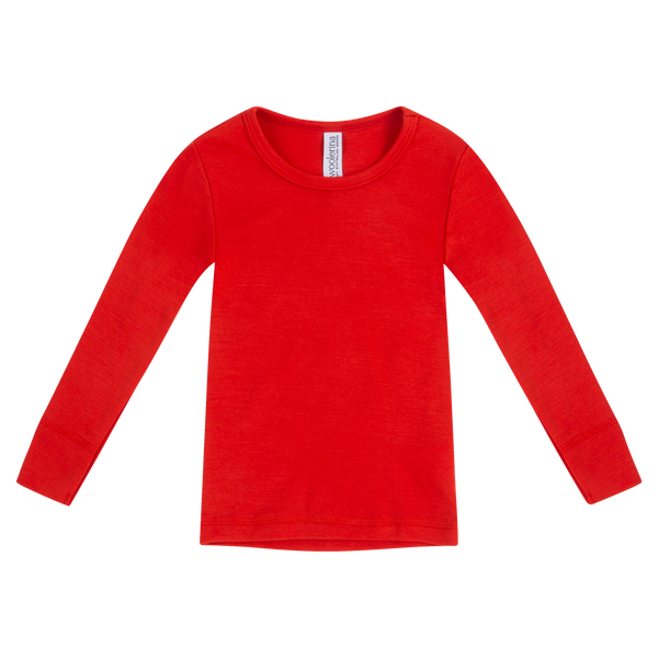 Kids Long Sleeve Crew Neck (size 2 - 8) AW21