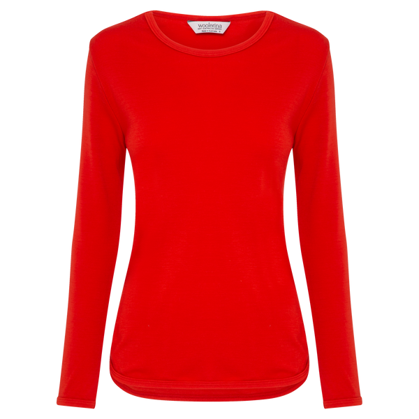 Womens Relaxed Fit Crew Neck Pullover AW21