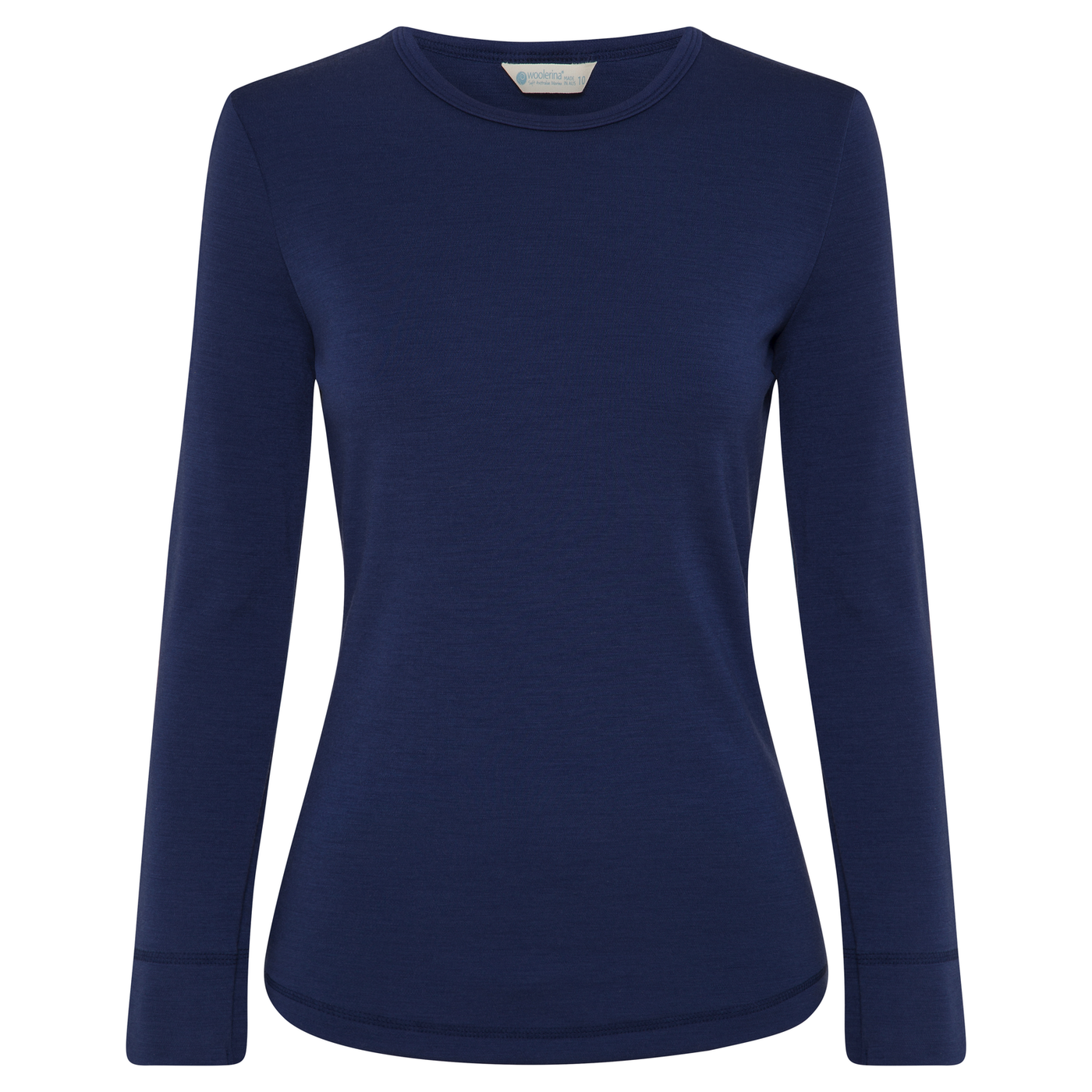SALE Womens Long Sleeve Crew Neck