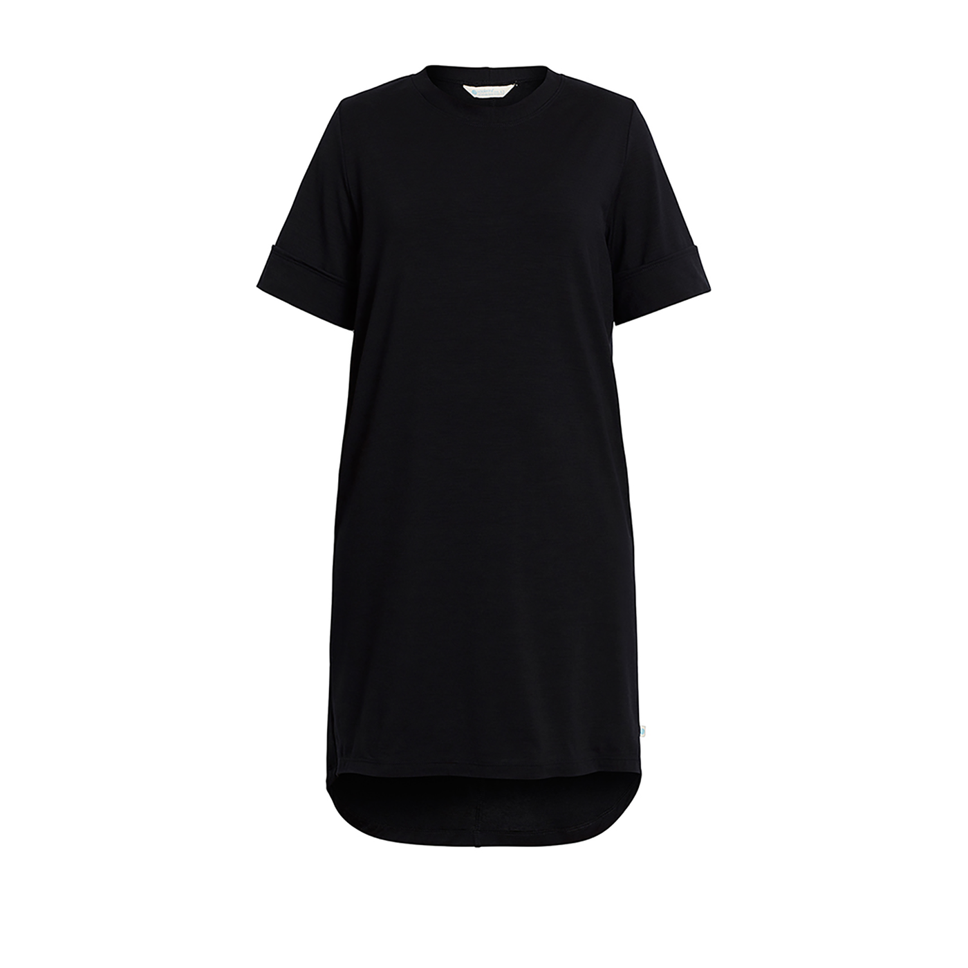Womens Merino Wool T.Shirt Dress. Australian Made, Ethical Clothing Australia accredited