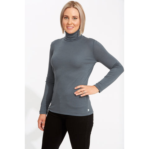 Womens Long Sleeve Turtleneck AW19