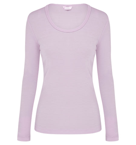 Womens Long Sleeve Scoop Neck AW19