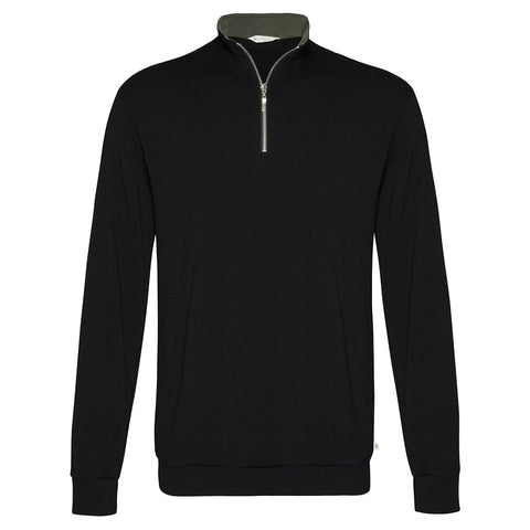 Mens 1/4 Zip Collared Jumper AW17