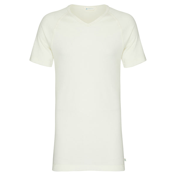 Mens Short Sleeve V Neck