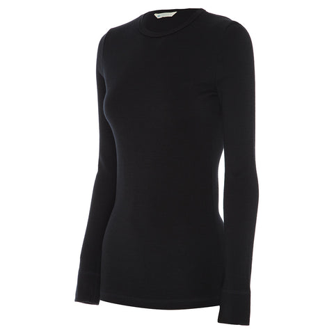 Womens Long Sleeve Crew Neck