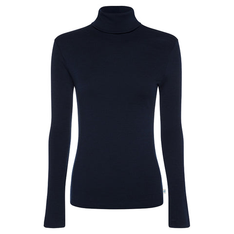 Womens Long Sleeve Turtle Neck