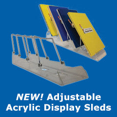 Adjustable Acrylic Displays