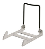 "Extra Large Base Wire Back Adjustable Display - 4PL (measures 4"" wide, 6"" tall, 5-1/2"" deep)"