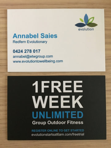 50 x trainer business cards your evolution store 50 x trainer business cards colourmoves