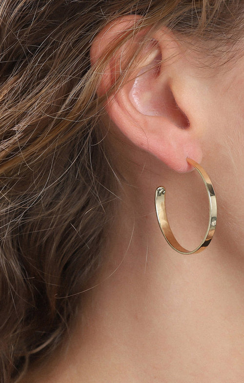 PILGRIM BELLA EARRINGS IN GOLD - LARGE