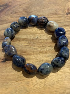Polished Sodalite Bracelet