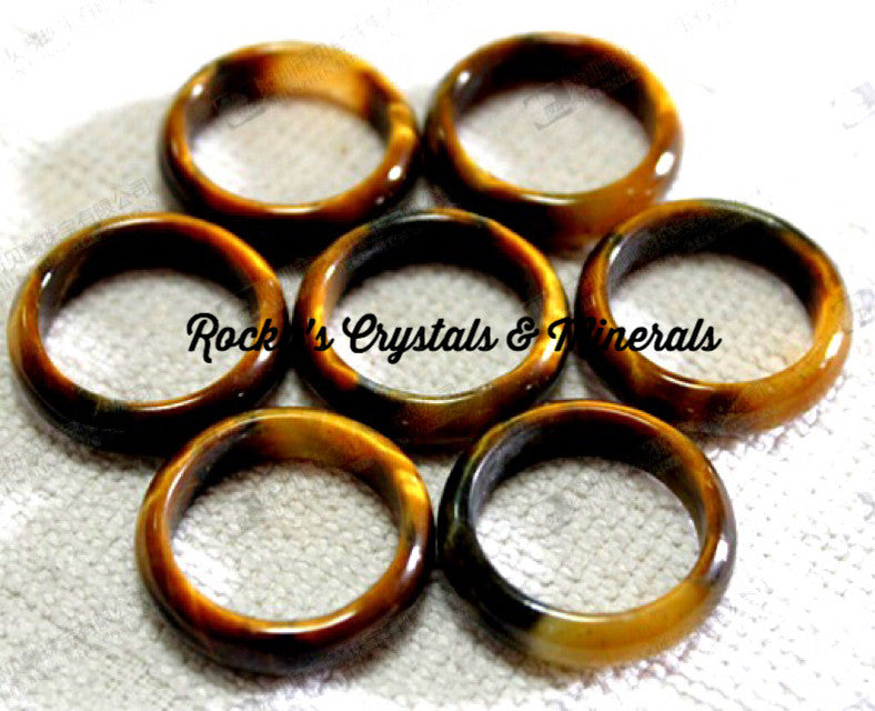 Premium Tiger's Eye Band Ring