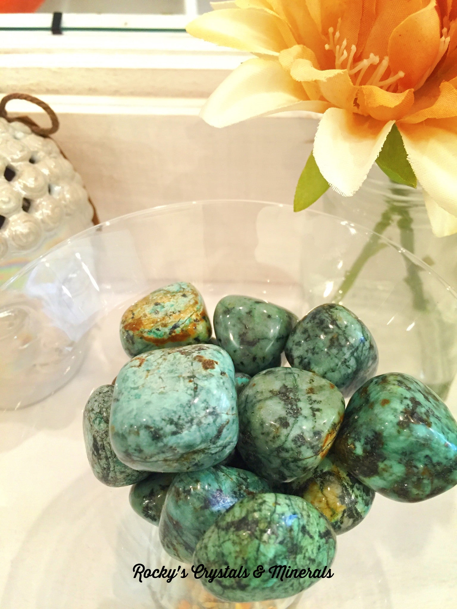 Tumbled African Turquoise