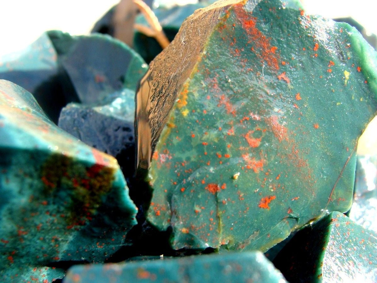 Rough Bloodstone