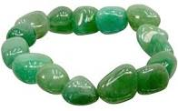 Polished Green Aventurine Bracelet
