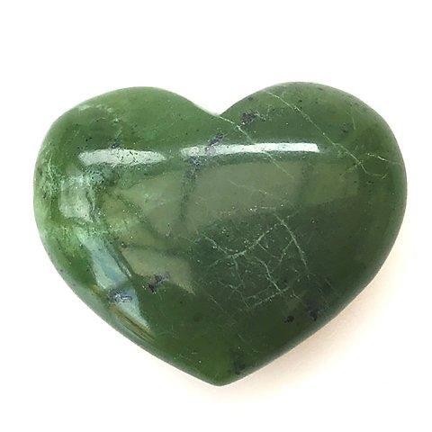 Large Nephrite Jade Heart