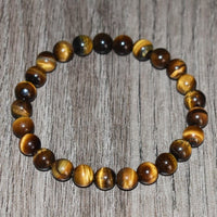 Tiger Eye Beaded Bracelet