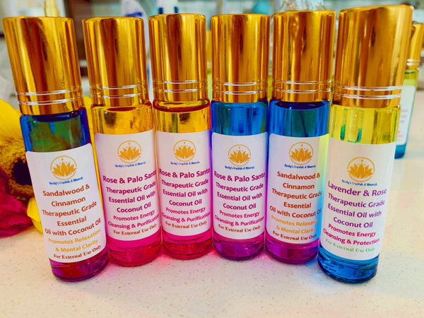 Therapeutic Grade Essential Oil Rollerball- Choose Your Scent Below!