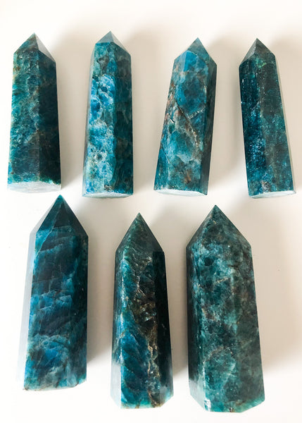 Madagascar Blue Apatite Massage Wand/Point
